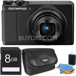"XZ-10 12MP Digital Camera f1.8 Lens 3"" Touch LCD 1080p Video - Black 8 GB Kit"