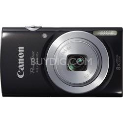 PowerShot ELPH 135 16MP 8x Optical Zoom Digital Camera - Black