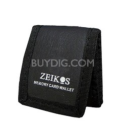 ZE-MC3A Tri-fold Memory Card Wallet - Stores up to 3 Memory Cards