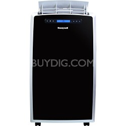 MM14CCS 14,000 BTU Portable Air Conditioner with Remote Control - Black/Silver