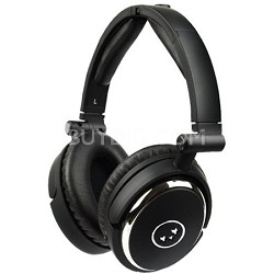 True Fidelity NC210 Noise-Canceling Headphones (Black Chrome) - OPEN BOX