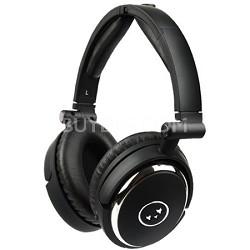 True Fidelity NC210 Noise-Canceling Headphones (Black Chrome) - OPEN BOX