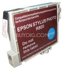 Replacement Ink Cartridge (Cyan) for Epson Stylus R800/R1800