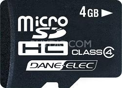 4 GB Micro SDHC Memory Card