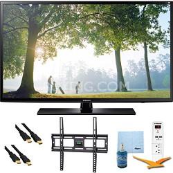 UN55H6203 - 55-Inch 120hz Full HD 1080p Smart TV Plus Mount & Hook-Up Bundle