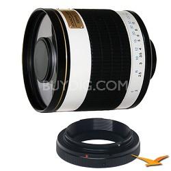 ED500M - 500mm f/6.3 Multi-Coated ED Mirror Lens for Olympus / Panasonic