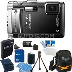 Tough TG-810  16GB Bundle - Waterproof Shockproof Freezeproof Black Camera