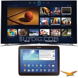 "UN75F8000 - 75"" 1080p 240hz 3D Smart Wifi LED HDTV - 10.1"" Galaxy Tab 3 Bundle"