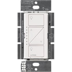Caseta Wireless Single Pole In-Wall Dimmer, 600/150-Watts - White