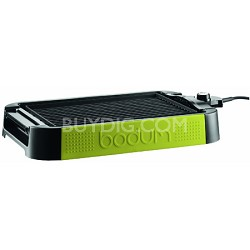 Electric Indoor Table Grill and Griddle - Green