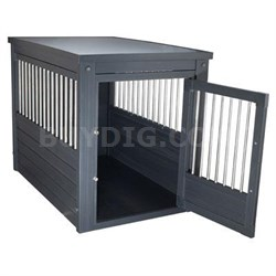 Medium InnPlace II Pet Crate in Espresso - EHHC402M