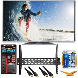 LC-60LE857U Aquos 60-Inch 3D Wifi 240Hz 1080p LED TV Plus Wall Mount Bundle