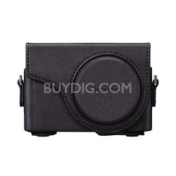 LCJ-WD/B Jacket Case for the DSC-WX300 - Black