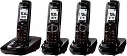 KX-TG7434B DECT 6.0 Expandable Digital Cordless Phone System