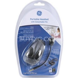 Portable Headset with Detachable Mic 98971
