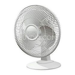 3-Speed 12-inch Table Fan - White