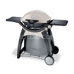 Q 320 Portable 393-Square-Inch 21700-BTU Gas Grill w/ Electronic ignition