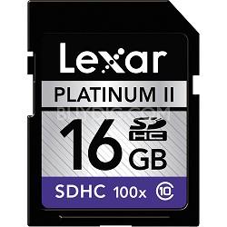 Platinum II 16 GB SD/SDHC Class 10 Flash Memory Card