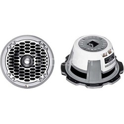 "6.5"" Marine Grade Coax/Component Speaker-White 75w RMS/150w peak"