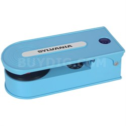 STT008USB Mini Turntable Record Player with USB Encoding - Blue