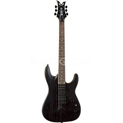 VNXM TBKS Vendetta XM Solid Body Electric Guitar Trans Black Satin