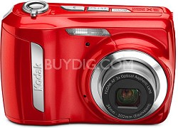 EasyShare C142 10 MP 2.5 inch LCD Digital Camera - Red