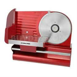 "Meat Slicer Electric 7.5"" Red"