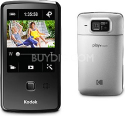 "Playtouch Chrome 1080p HD Video Camera Camcorder w/ 3.0"" Touchscreen"