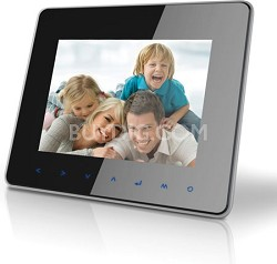"""8"""" Digital Photo Frame with Multimedia Playback"""