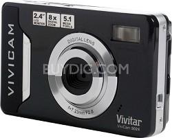 ViviCam V 5024 5.1 MP Digital Camera (Black)