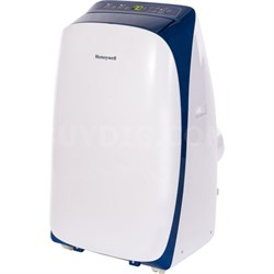 HL14CESWB 14,000 BTU Portable Air Conditioner with Remote Control in White/Blue