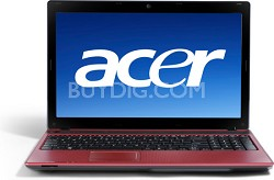 Aspire AS5736Z Series Notebook - Red Intel Pentium T4500 Processor