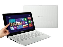"K200MA-DS01T (-WHS) 11.6"" Touchscreen Intel Celeron N 2815 Notebook - White"