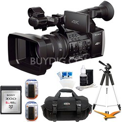 FDR-AX1 Digital 4K Video Camera Recorder with 32 GB Accessory Bundle