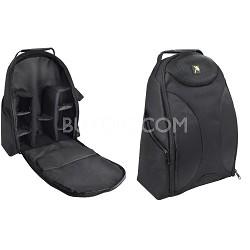 Deluxe Digital Camera/Video Padded Backpack (Black)