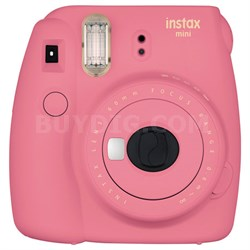 Instax Mini 9 Instant Camera - Flamingo Pink