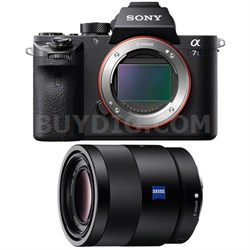 a7S II Full-frame Mirrorless Interchangeable Lens Camera Body 55mm Lens Bundle
