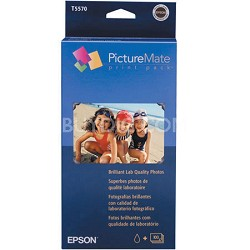 T5570-270 PictureMate Color Ink and Paper Pack (Glossy, 4x6, 270 Sheets)
