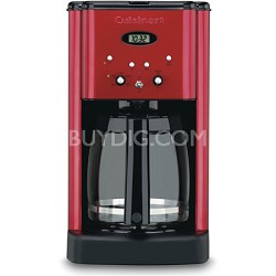 DCC-1200MR Brew Central 12-Cup Programmable Coffeemaker - Red - Refurbished