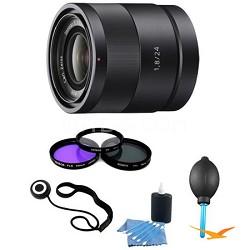 SEL24F18Z Carl Zeiss 24mm f/1.8 E-Mount Lens Essentials Kit w/ Filter Kit & More