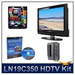 LN19C350 - HDTV + High-performance Hook-up Kit + Power Protection + Calibration