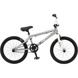 "Mischief 20"" Freestyle BMX Bike - Light Gray"