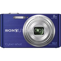 DSCW730 16 MP 2.7-Inch LCD Digital Camera - Blue
