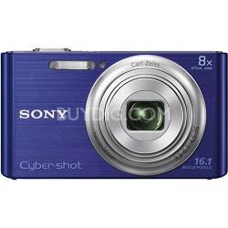 DSCW730 16 MP 2.7-Inch LCD Digital Camera - Blue