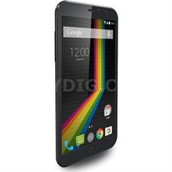 """LINK A6 Unlocked Dual Core Smartphone w/ 6"""" Display (Blk) Android 4.4 - OPEN BOX"""