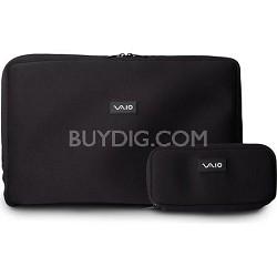 "VAIO VGPAMC8 Neoprene 18.4"" Notebook and AC Adapter Cases"