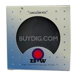 72mm Circular Polarizer Glass Filter - 65-062161