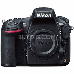 D810 36.3MP 1080p FX-Format DSLR Camera  (Body Only) Factory Refurbished