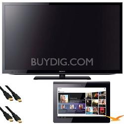 KDL55HX750 55 inch 3D Wifi XR 480hz LED HDTV + Sony Tablet S Bundle