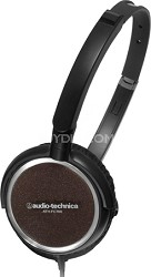 ATH-FC700ABK Portable Headphones (Black)